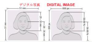 アメリカビザ写真規格