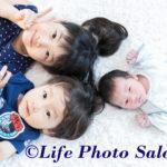 中原区元住吉の産婦人科、北村医院さん院内で新生児の出張撮影をしている写真館です。
