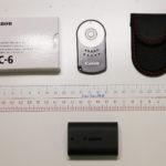 キヤノン、カメラ用リモコンRC-6のご紹介