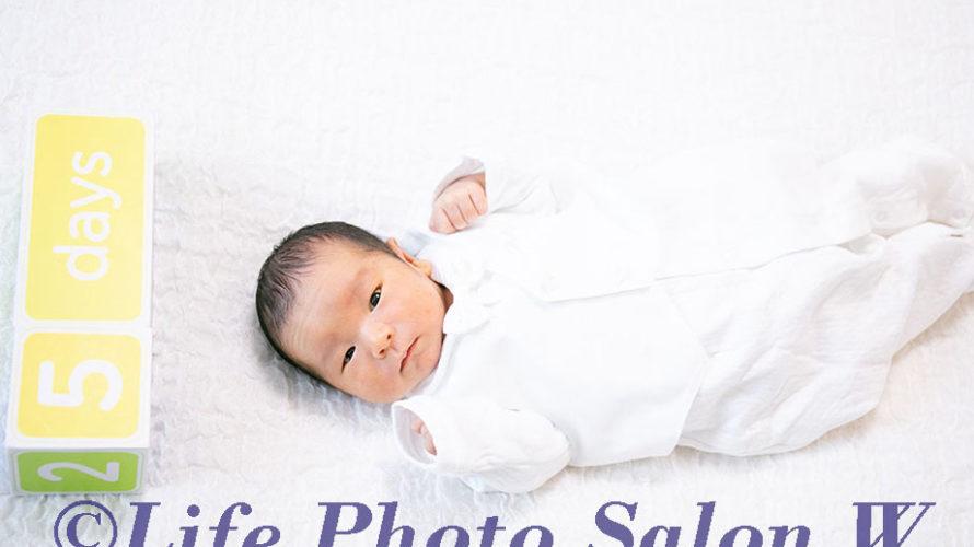 生後5日目の写真