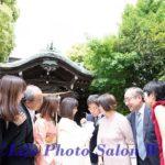 元住吉・住吉神社へのお宮参りの出張撮影(2019年5月)