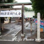 元住吉・井田神社へのお宮参りの出張撮影(2019年7月)