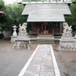 井田神社拝殿2