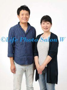 結婚記念の家族写真2