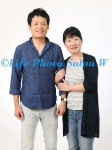 結婚記念の家族写真3