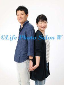 結婚記念の家族写真4