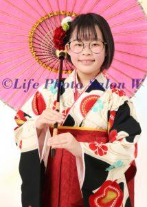 卒業袴傘1