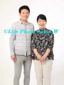 記念日の家族写真1