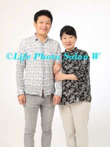 記念日の家族写真2