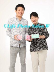記念日の家族写真3