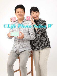 記念日の家族写真4