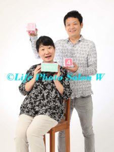 記念日の家族写真5