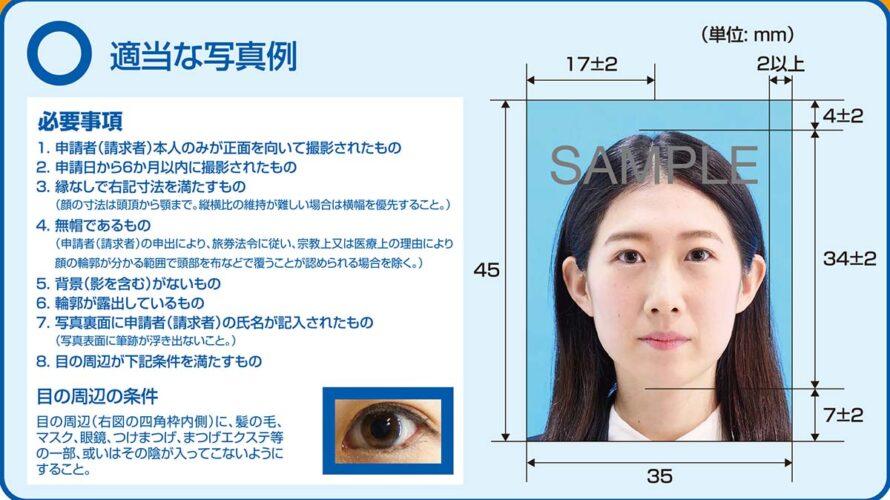 パスポート写真新規格5